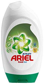 Excel Detergente máquina líquido gel concentrado con actilift botella 24 dosis Botella 24 dosis
