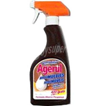 Agerul Limpia muebles pistola nutre abrillanta y repele el polvo Bote 400 ml