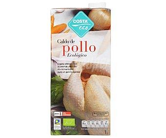 Costa Eco Caldo de Pollo Ecológico Brik 1 lt