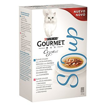 Soup de atún para gatos
