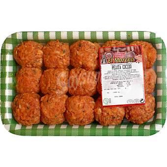 EL MORENO Albóndigas de cerdo peso aproximado  bandeja 700 g