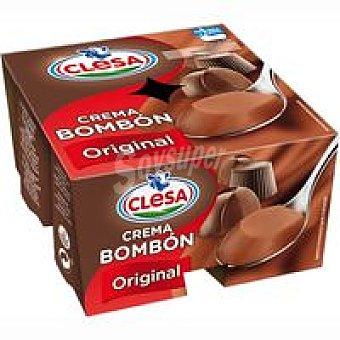 CLESA Postre de chocolate Pack 4x125 g
