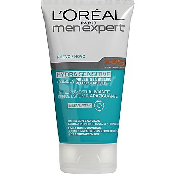L'OREAL MEN EXPERT Hydra Sensitive gel limpiador para pieles sensibles Frasco 150 ml