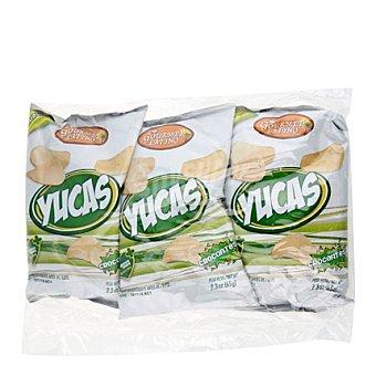 Gourmet Latino Yuca chips 3 ud