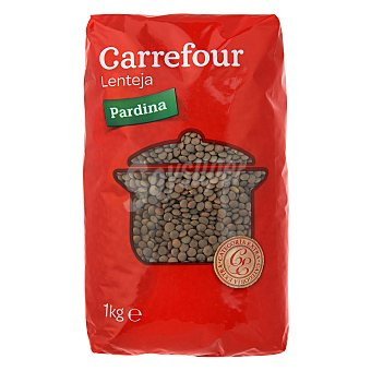 Carrefour Lenteja pardina 1 kg