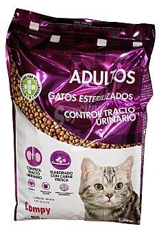 Compy Comida gato croqueta control urinario (gatos esterilizados) Paquete 800 g