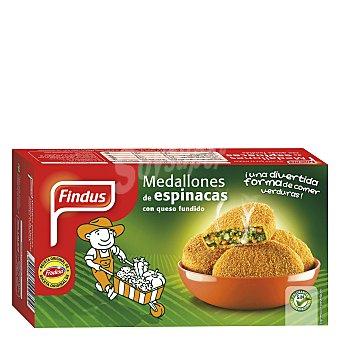 Findus Medallones de Espinacas 4 Unidades 300 Gramos