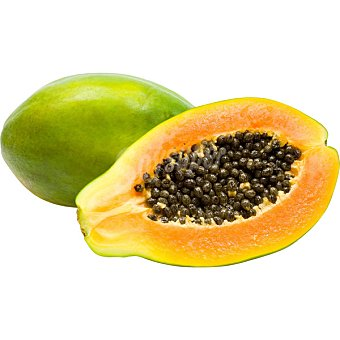 Papaya al peso (peso aproximado de la ) Unidad 400 g