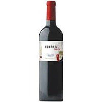 Homenaje Vino Tinto Crianza Osasuna botella 75 cl