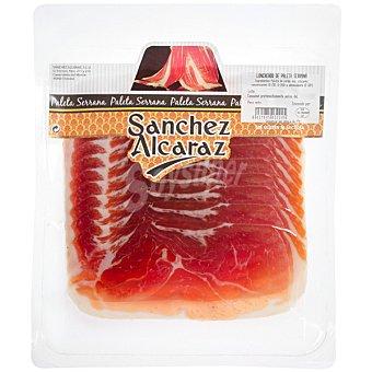 SANCHEZ ALCARAZ paleta serrana en lonchas envase 150 g
