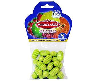 Miguelañez Chicles gradeados sabor a melón bolsa 125 g