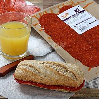 Revilla Chorizo extra de Pamplona loncheado Sobre de 100 g