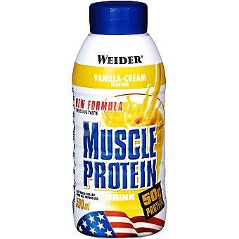 WEIDER Muscle Protein batido de proteínas sabor vainilla  botella 500 ml