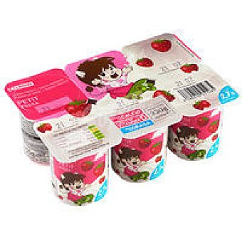 Eroski Petit Fruits con fresa Pack 6x55 g