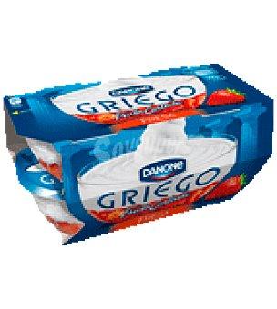 Griego Danone Yogur griego enriquecido con frutas cortadas Pack de 4x125 g