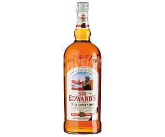 SIR EDWARDS Blended Whisky Escocés Botella de 1,5 Litros