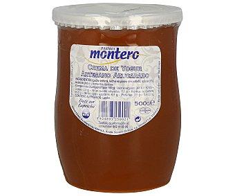 Montero Crema artesanal de yogur azucarado 500 gramos