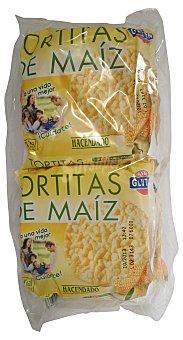 Hacendado Tortas maiz Pack 4 paquetes - 120 g