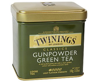 Twinings Lata té verde Gunpowder 100 g