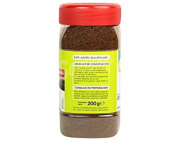 Productos Económicos Alcampo Café descafeinado soluble 200 gramos