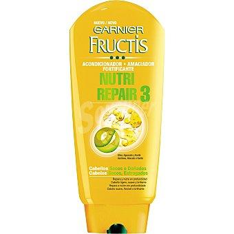 Fructis Garnier Crema suavizante nutri repair 3 frasco 250 ml 3 frasco 250 ml