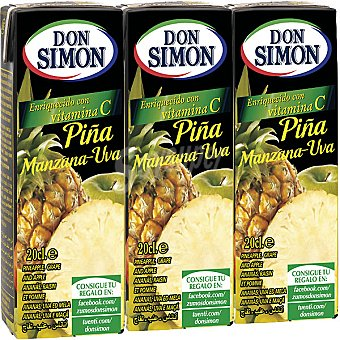 Don Simón Zumo de Piña Pack de 3x200ml