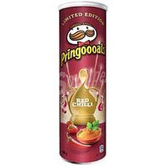 Pringles Patatas chili rojo Lata 190 g