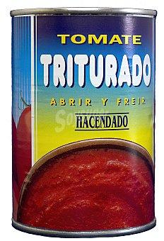 Hacendado Tomate natural triturado Bote 400 g