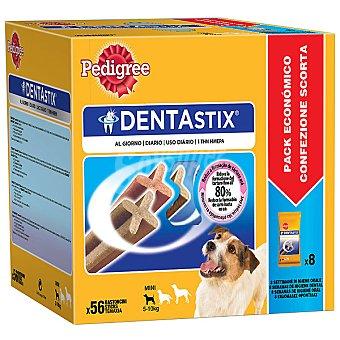 PEDIGRE DENTASTIX Para perros de raza pequeña pack especial 56 sticks caja 880 g 880 g