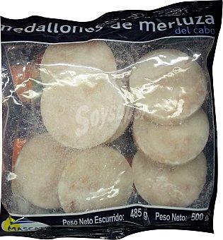 Mascato Merluza congelada medallones Paquete 485 g escurrido