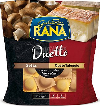 Rana Duetto setas-queso 250 G