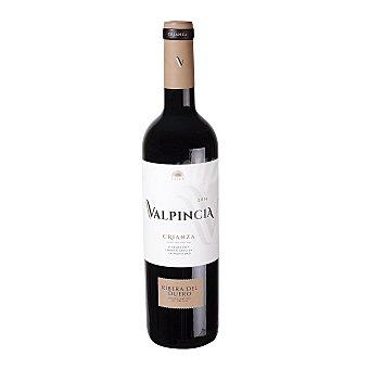 Valpincia Vino tinto crianza con denominación de origen Ribera del Duero Botella de 75 cl