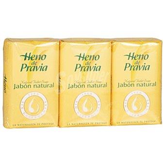 Heno de Pravia Jabón original natural Pack 3 x 115 gr