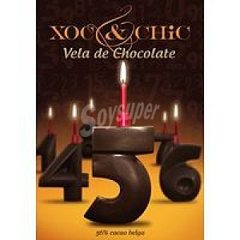 Xoc & Chic Vela de chocolate Nº 5 Pack 1 unid