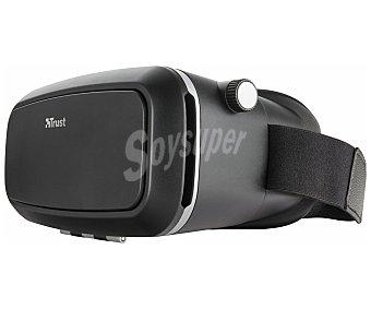 Trust VR Glasses para smartphones, urban Exos, material de plástico, cintas de sujeción, orificios para conexiones Exos, material de plástico, cintas de sujeción, orificios para conexiones