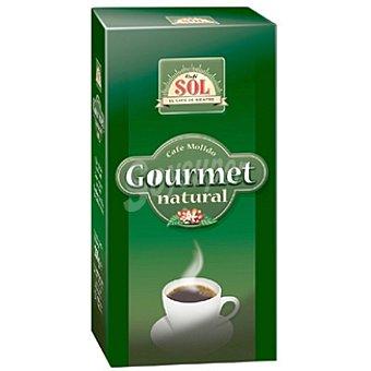 SOL Gourmet Café natural molido Paquete 250 g