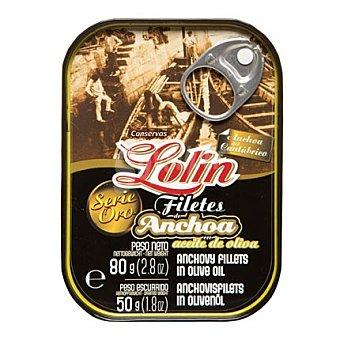 Conservas Lolin Anchoa serie oro 50 g
