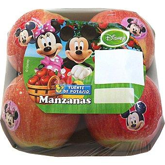 DISNEY2 Manzana royal gala bandeja 630 g (contiene juguete sorpresa) Bandeja 630 g