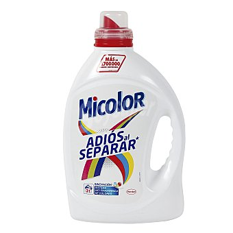 Micolor Detergente máquina líquido adiós al separar  Botella 33 dosis