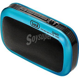 TREVI RS745 USB Radio portátil digital con lectura USB y microsd en color azul