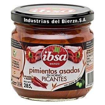 Ibsa Pimientos asados picantes con aceite de oliva 210 g
