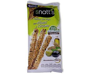 GREFUSA SNATT'S Palitos de trigo con olivas y sésamo bolsa 60 g