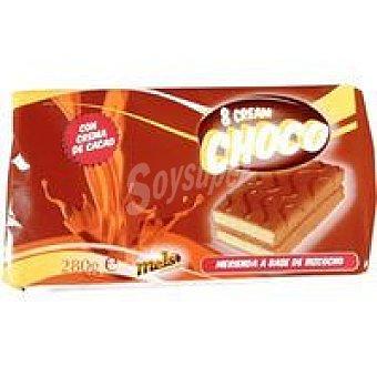 Don Sancho Melero Bizcocho de crema de cacao Paquete 280 g