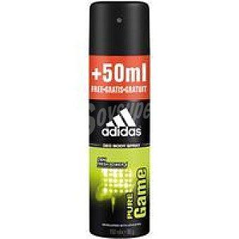 Adidas Desodorante para hombre Pure Game Body Sp Spray 200 ml