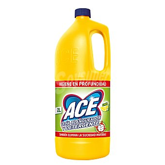 Ace Lejía amarilla de limón Garrafa 2 litros