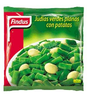 Findus Judías verdes plana con patatas 750 g