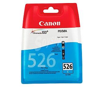 Canon Cartucho de tinta PGI-526, Cian, compatible con impresoras: iP4850 / iP4950 / iX6550 / MG5150 / MG5250 / MG5350 / MG6150 / MG5260 / MG8150 / MG8250 / MX885