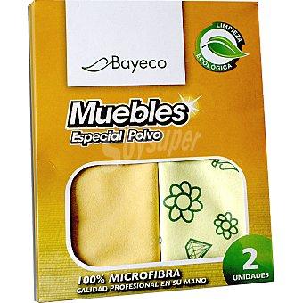 Bayeco Bayeta ecológica muebles especial polvo Paquete 2 unidades