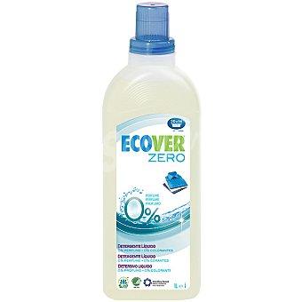 ECOVER Zero Detergente máquina líquido sin perfume ecológico Botella 20 dosis