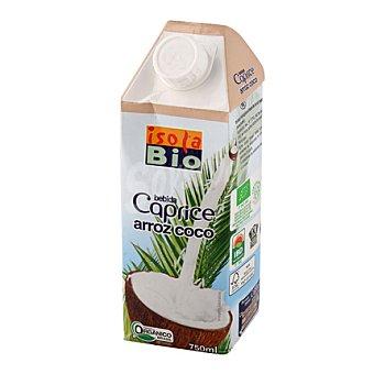 Isolabio Qbio Bebida de arroz de coco Caprice 750 ml